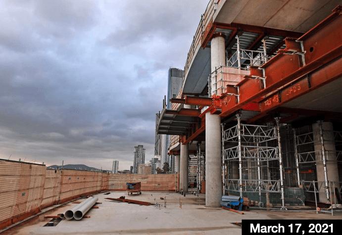 Inside Queen's Wharf Development